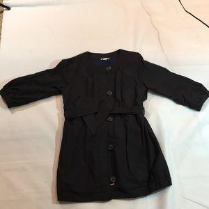 Vince lightweight belted coat